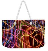 Energy Lines Weekender Tote Bag