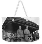 Franklin D Weekender Tote Bag