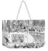 Lincoln Assassination Weekender Tote Bag