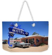 Route 66 - Blue Swallow Motel Weekender Tote Bag