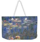 Water Lilies Weekender Tote Bag