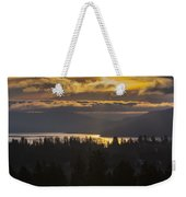 131127a-18 Sandpoint Winter Sunrise Weekender Tote Bag