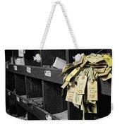 138 Weekender Tote Bag