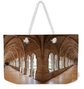 13th Century Gothic Cloister Weekender Tote Bag
