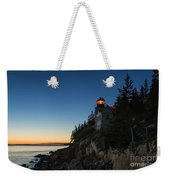Bass Harbor Lighthouse Weekender Tote Bag