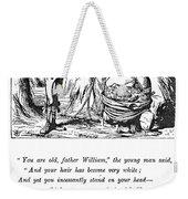 Carroll Alice, 1865 Weekender Tote Bag