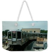 Cta's Retired 2200-series Railcar Weekender Tote Bag