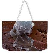 Human Macrophage Weekender Tote Bag