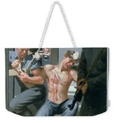 14. Jesus Is Nailed To The Cross / From The Passion Of Christ - A Gay Vision Weekender Tote Bag
