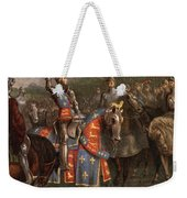 1400s Henry V Of England Speaking Weekender Tote Bag