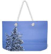 140303a-12 Winter Blues Weekender Tote Bag