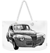 1941 Ford Coupe Weekender Tote Bag