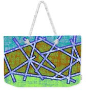 1455 Abstract Thought Weekender Tote Bag
