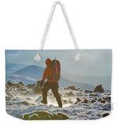 A Summit Intern Hikes The Northwest Weekender Tote Bag