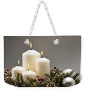 Advent Wreath Weekender Tote Bag