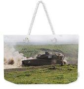 An Israel Defense Force Merkava Mark Iv Weekender Tote Bag