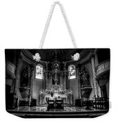 Church Of Saint Agnes Weekender Tote Bag