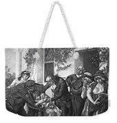 Edward Jenner (1749-1823) Weekender Tote Bag