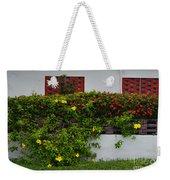 15- Garden Walk Weekender Tote Bag