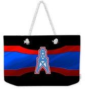 Houston Oilers Weekender Tote Bag