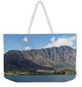 Lake With Mountain Range Weekender Tote Bag