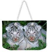 Tigre Blanc Panthera Tigris Weekender Tote Bag