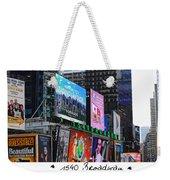 1540 Broadway Weekender Tote Bag