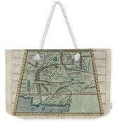 1597 Ptolemy  Magini  Keschedt Map Of Pakistan Iran And Afghanistan Weekender Tote Bag by Paul Fearn