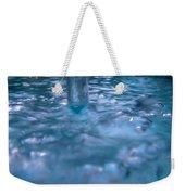 Australia - Deep Blue White Water Colour Weekender Tote Bag