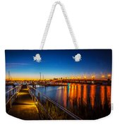 Bridge Of Lions St Augustine Florida Painted  Weekender Tote Bag
