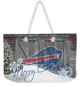 Buffalo Bills Weekender Tote Bag by Joe Hamilton