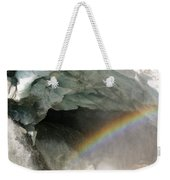 Climate Change In Greenland Weekender Tote Bag