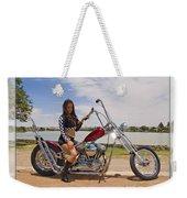 Models And Motorcycles Weekender Tote Bag