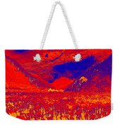 Space Landscape Weekender Tote Bag