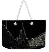 View Of Episcopal Cathedral In Edinburgh Weekender Tote Bag