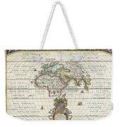1650 Jansson Map Of The Ancient World Weekender Tote Bag