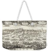 1697 Pufendorf View Of Krakow Cracow Poland Weekender Tote Bag