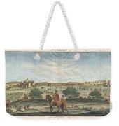 1698 De Bruijin View Of Bethlehem Palestine Israel Holy Land Weekender Tote Bag