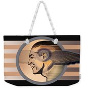 16x20 Mercury Black Weekender Tote Bag