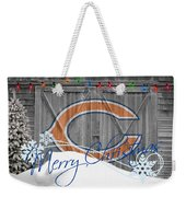 Chicago Bears Weekender Tote Bag