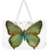 17 Green Hairstreak Butterfly Weekender Tote Bag