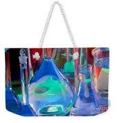 Laboratory Glassware Weekender Tote Bag by Charlotte Raymond