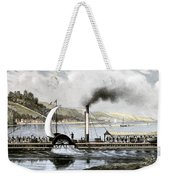 Robert Fulton's Clermont Weekender Tote Bag