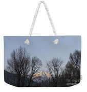 Snow-capped Mountain Weekender Tote Bag