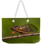 17-year Periodical Cicada I Weekender Tote Bag