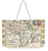 1710 De La Feuille Map Of Africa Weekender Tote Bag