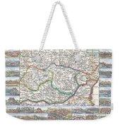 1710 De La Feuille Map Of Transylvania  Moldova Weekender Tote Bag
