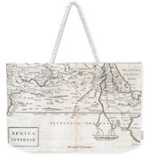 1730 Toms Map Of Central Africa Weekender Tote Bag