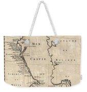 1730 Van Verden Map Of The Caspian Sea Weekender Tote Bag
