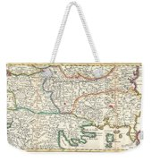 1738 Ratelband Map Of The Balkans Weekender Tote Bag